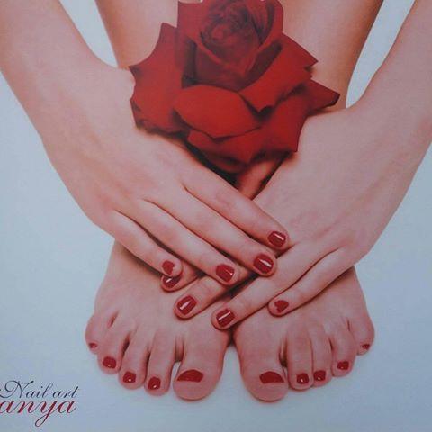Nail art Vanya