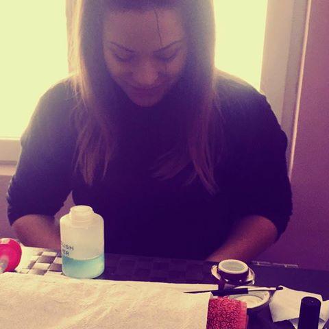 Vilianna's Bright Nails
